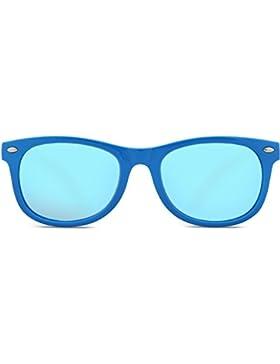 SojoS Kids Gafas De Sol Niños Y Niñas Wayfarer Marco Flexible Lentes Polarizadas UV400 SK205