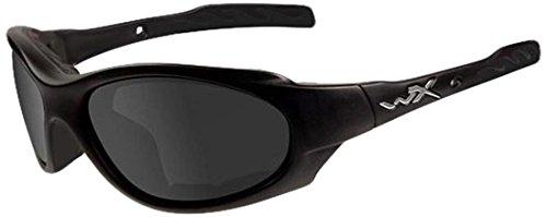WILEY X XL-1 ADVANCED Smoke Grey/Clear Matte Black Frame