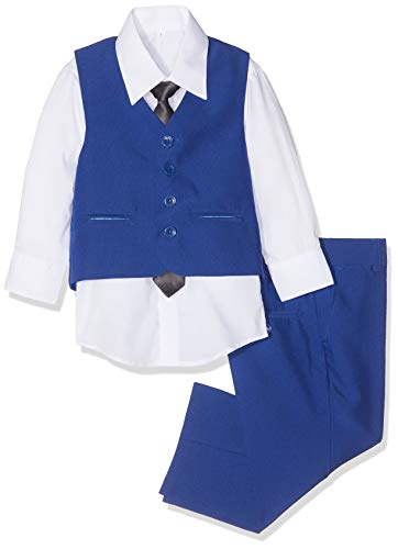 Shiny Penny Jungen Anzug Blau Blau Gr. 4-5 Jahre, Blau (Anzüge Kinder)