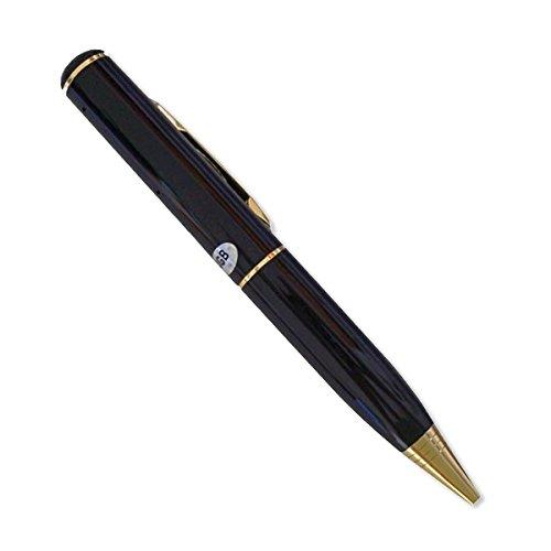 oro-bolgrafo-espa-cmara-de-4-GB-y-negro