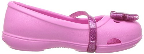 crocs Mädchen 204028 Closed-Toe Ballerinen Pink (Party Pink)