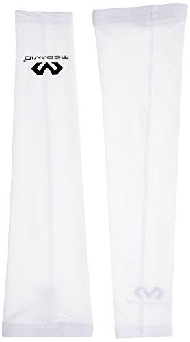 McDavid, 6566, Protezione per braccio, 1 paio, Bianco (Weiß), S/M