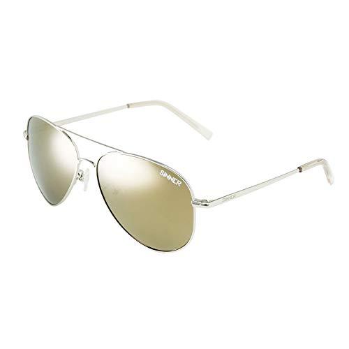 Sinner Piloten Herren Sonnenbrille - UV400 Schutz. Ideal für Autofahren, Reisen, Golf spielen, Radfahren, und Freizeit - Mehrere modische Farben
