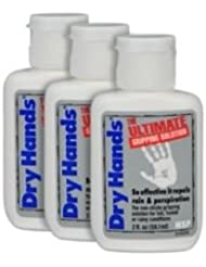 Dry Hands 2oz Ultimate Gripping Solution Golf/Sports by Dry Hands