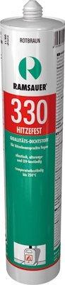 Ramsauer 330 Hitzefest braun 1K Silikon Dichtstoff 310ml Kartusche
