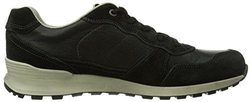 Ecco ECCO CS14 MEN'S, Herren Sneakers Schwarz (BLACK/BLACK 51707)