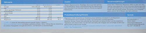 BWG Magnesium 3000, hochdosiertes Magnesiumcitrat Liquid, plus Vitamin C, vegan, Body Line, 20 Trinkfläschchen a' 25 ml (500 ml Packung)