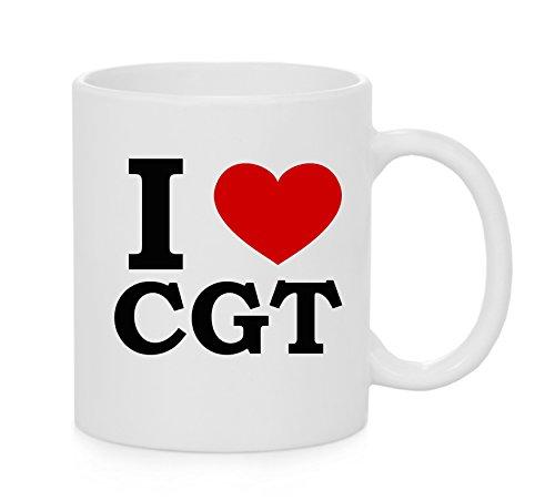 I Heart CGT (Amour) Officielle Mug