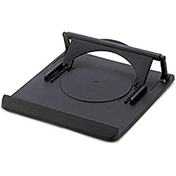 Hemore Girevole di supporto universale 360gradi regolabile in altezza e angolo di tavolo di raffreddamento del manubrio per notebook computer portatile ergonomico di rotazione