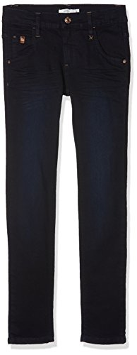 NAME IT Jungen Jeans Nkmsilas Dnmcomo 3012 Pant Camp, Blau (Dark Blue Denim), 140