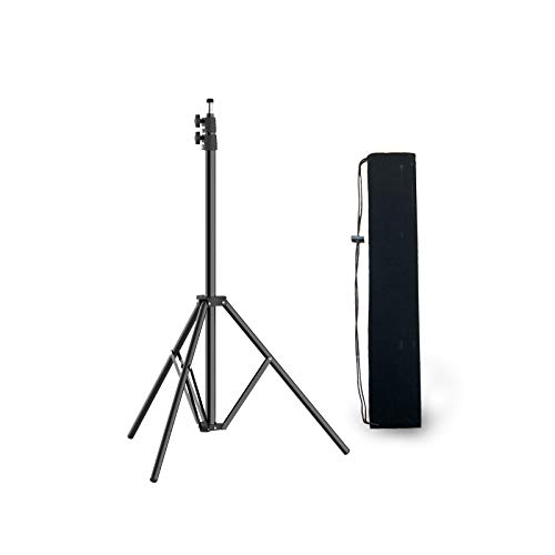 Lichtstative, Pixel Lampenstativ 79inch/200cm Adjustable Video Tripod Light Stands with Carry Bag 1/4 Thread 3-Section for Studio, Relfectors, Lights Photographic -