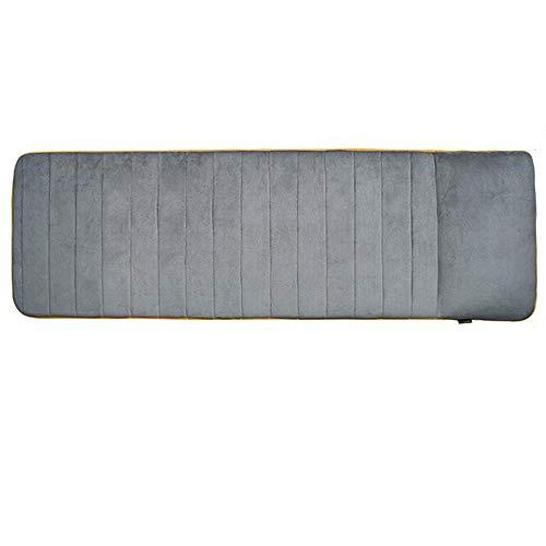QRFDIAN Materasso da massaggio per il corpo completo | Massaggio vibrante per 8 motori Cuscino per seduta con calore | - Collo - Spalla - Massaggiatore per schiena e coscia con riscaldamento | pieghev