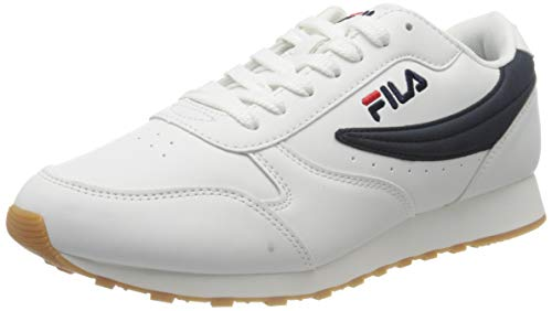 Fila Orbit Low, Zapatillas para Hombre, Blanco White 1010263-98f, 43 EU