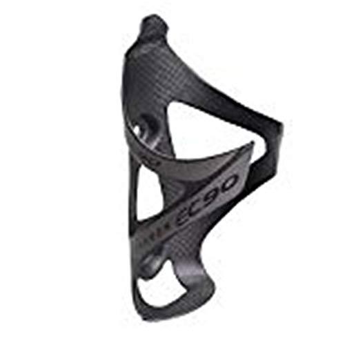 EC90 - Portabidón para Bicicleta, de Fibra de Carbono Titular de Bicicleta Ajustable, Bicicleta de montaña Jaula MTB Botella ,Ultraligero Jaula Accesorios (Gris)