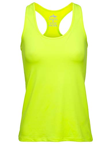 f37f2db733 Killer Whale Gym Tank Tops for Women All Sports Dry Fit Yoga (Neon, M  UK(10))