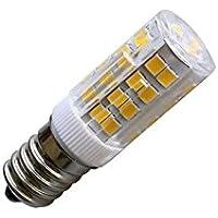 3 X Bombilla LED E14, 51xSMD2835, 3.5W, Blanco frío