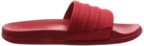 adidas Adilette Cf Mono W, Tongs Femme Rouge (Escarl/escarl/escarl)