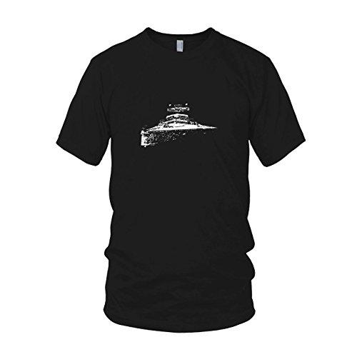 r - Herren T-Shirt, Größe: XXL, Farbe: schwarz (Star Wars Episode 6 Luke Skywalker Kostüm)