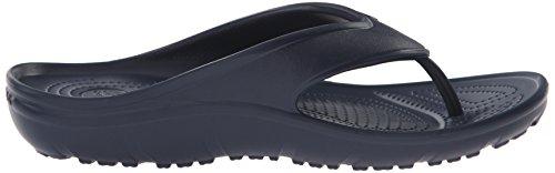 Crocs Hilo Flip, Chaussons Mules Mixte Adulte Bleu (Navy)
