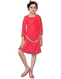 White World Girls' A-Line Mini Dress