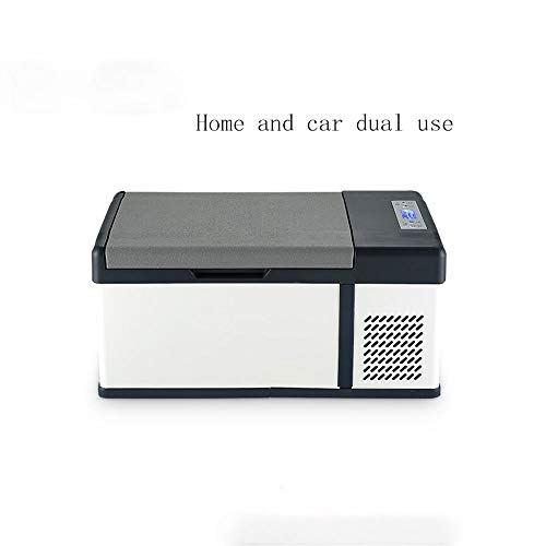 WANSIRUI 12V / 24v Kompressor-Autokühlschrank, Kleiner großer Kühlschrank der Kapazitäts-15L, Multifunktionsautokühlschrank, Haushaltskosmetik-Kühlschrank (Size : Style B)