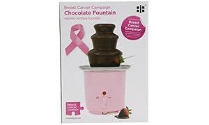 Ethos 200-027 Breast Cancer Campaign - Fuente de chocolate, color rosa de Ethos