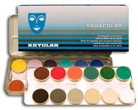 Schminkpalette Aquacolor (24 Farben) K