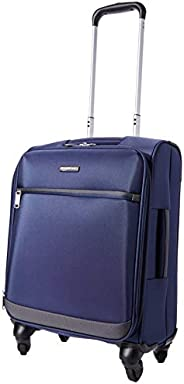 Amazon Basics - Roll-Reisetrolley, 53 cm, , Marineblau