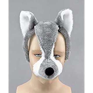 Wolf Mask (With Sound) - Kids Accessory