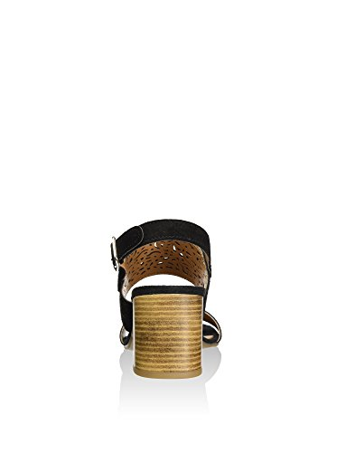 Cafenoir XL612 Sandalo tacco Donna Nero