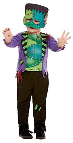 Für Gruselige Kostüm Kleinkind - Fancy Me Kostüm für Kleinkinder, Jungen, gruseliges Monster, für Halloween, 1-4 Jahre, Grün