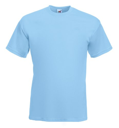 Fruit of the Loom Super Premium T-Shirt Sky Blue
