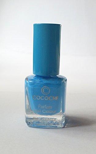 NEW Nail Art cocoche Parfum Bleu avec vernis à ongles Vanilla Parfum/Arôme de vanille Nail Colour