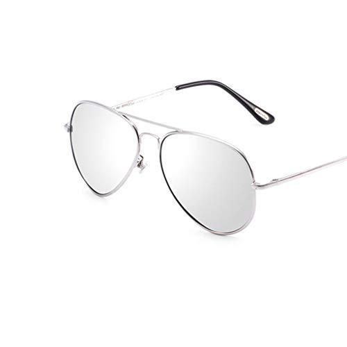 SUNGLASSES Herren Sonnenbrille, Driving Around Glasses Wrap Resin Discoloration polarisierte Sonnenbrille für Männer (Color : H)
