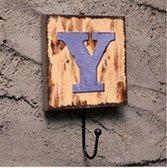 Crochet Mural Vintage Design Decoratif Porte Clés Original Y Alphabet Lettre