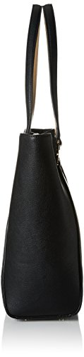 Tommy Hilfiger Fashion Novelty Perf, Sacchetto Donna, 13 x 31 x 33 cm (b x h x t) Multicolore (Black / Sand)