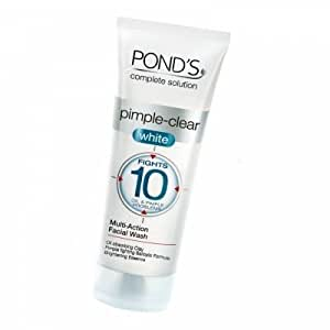 Ponds Complete Solution Pimple-Clear White Multi-Action Facial Wash - 50g (pack of 2)