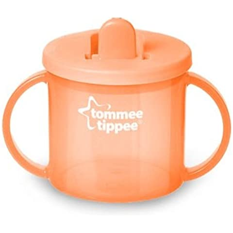 Tommee Tippee - Prima tazza, dai 4 mesi in poi, colore: Arancione