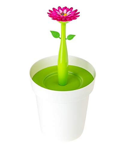 Vigar pattumiera per bagno flower power