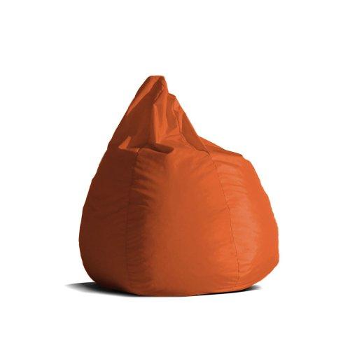 Pouf-poltrona-sacco-media-BAG-L-Jive-tessuto-tecnico-antistrappo-arancio-imbottito-Avalon