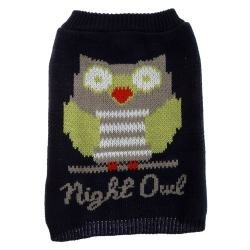 grreat Auswahl Marineblau Night Owl Hund Pullover ~ Medium ~