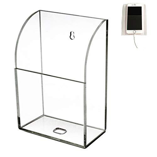 HyFanStr Wandhalterung Acryl Fernbedienung Halter Media Organizer Box 1 Compartment -Upgrade