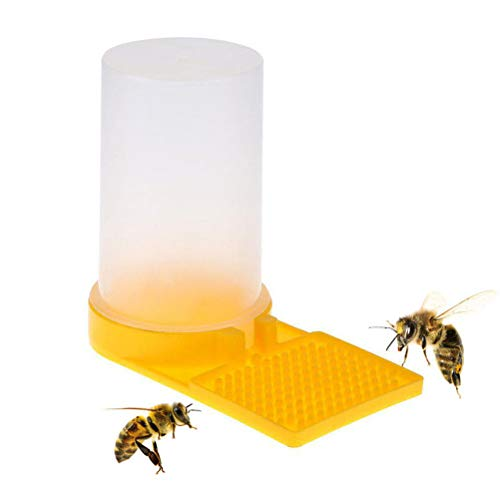 Yissma Bienen Wasser Feeder, Flüssigkeit Fütterungsanlage Wasserspender Kunststoff Bienenzucht Werkzeug Imkereiausrüstung Zubehör