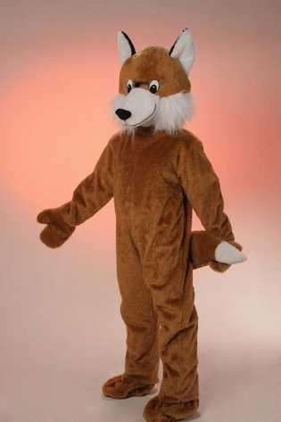 Orlob Plüsch Kostüm Big Fuchs Maskottchen Fuchskostüm Karneval - Plüsch Maskottchen Kostüm
