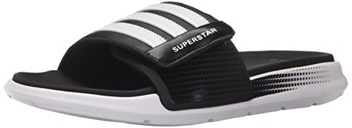 Adidas Performance Superstar 4g M Sandal, noir / blanc / noir, 6 M Us Black/White/Black