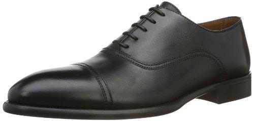 Lottusse - Mocassini L6553-01109-01 Uomo, colore nero (lond.old negro), taglia 45.5 EU (11 UK)