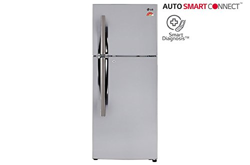 LG 260 L 3 Star Frost-Free Double Door Refrigerator (GL-I292RPZY.BPZZEBN,...
