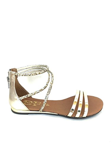 Divine Follie , Damen Sandalen Gold