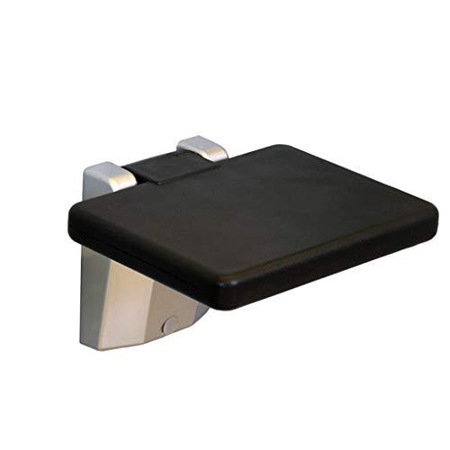 Quadratische Form Faltender Wandhocker Älteres Badezimmer Dusche Stuhl Gang Stuhl Änderung Schuhe Wand Stuhl, Max 150 Kg -
