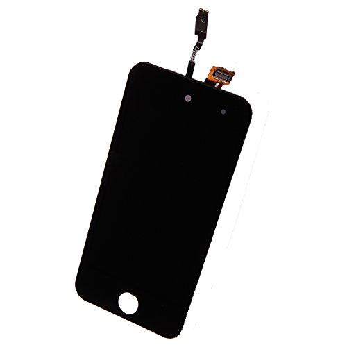 Original Sintech Display-Einheit für Apple iPod Touch 4G / 4. Generation in der Farbe schwarz - komplette Einheit inkl. Frontscheibe, Touchscreen und LCD - Einfache Montage ganz ohne Lötarbeiten